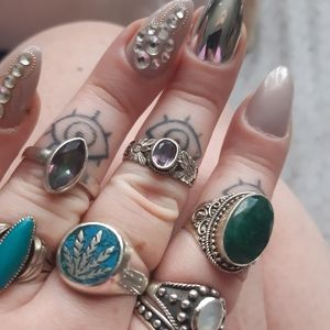 Jewelry - Sterling silver rings
